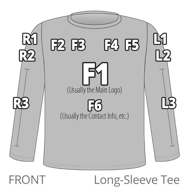placement-LS-TEE-front